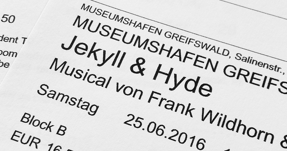 Theatrically Speaking: Jekyll & Hyde in Greifswald, Germany