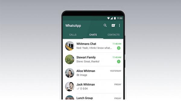 WhatsApp  ستدعم قريباََ المكالمات الجماعية تصل إلى 8 أشخاص