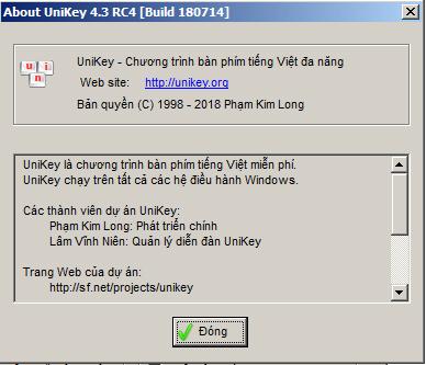Tải Unikey - Gõ tiếng Việt mới nhất cho PC Win 7/10 miễn phí 4