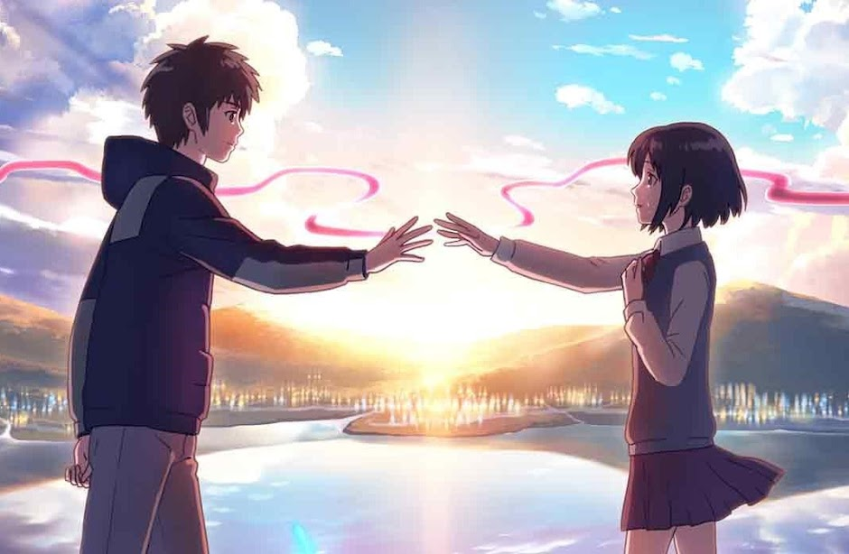 "anime japonês ""Your Name"""