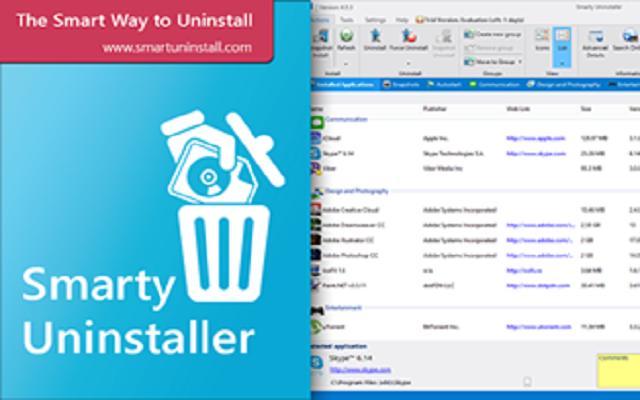 تحميل برنامج Smarty Uninstaller لحدف البرامج من جذورها بشكل نهائي