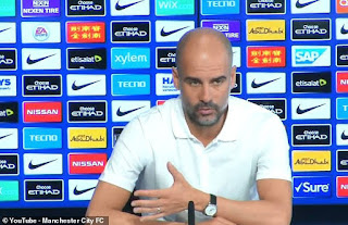 Pep Guardiola not worried about Manchester United ahead of  Premier League derby