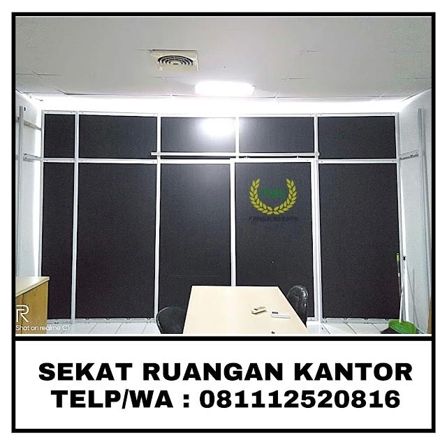 JUAL PARTISI SEKAT RUANGAN KANTOR MINIMALIS JAKARTA 081112520816