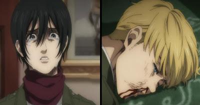 Apakah Eren Benar Benar Sangat Membenci Mikasa dan Armin?