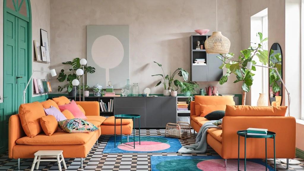 Colori, design e tradizione per un soggiorno che osa