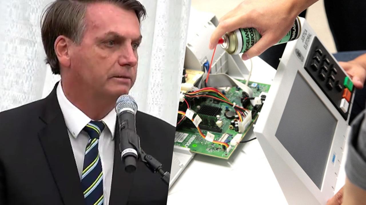 Bolsonaro afirma ter provas de que houve fraude, e seria eleito em primeiro turno