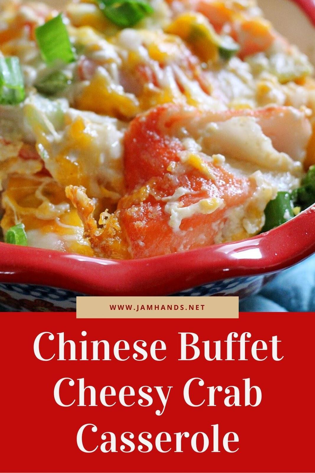 Chinese Buffet Cheesy Crab Casserole