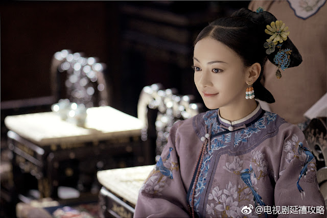 story of yanxi palace cast qin lan