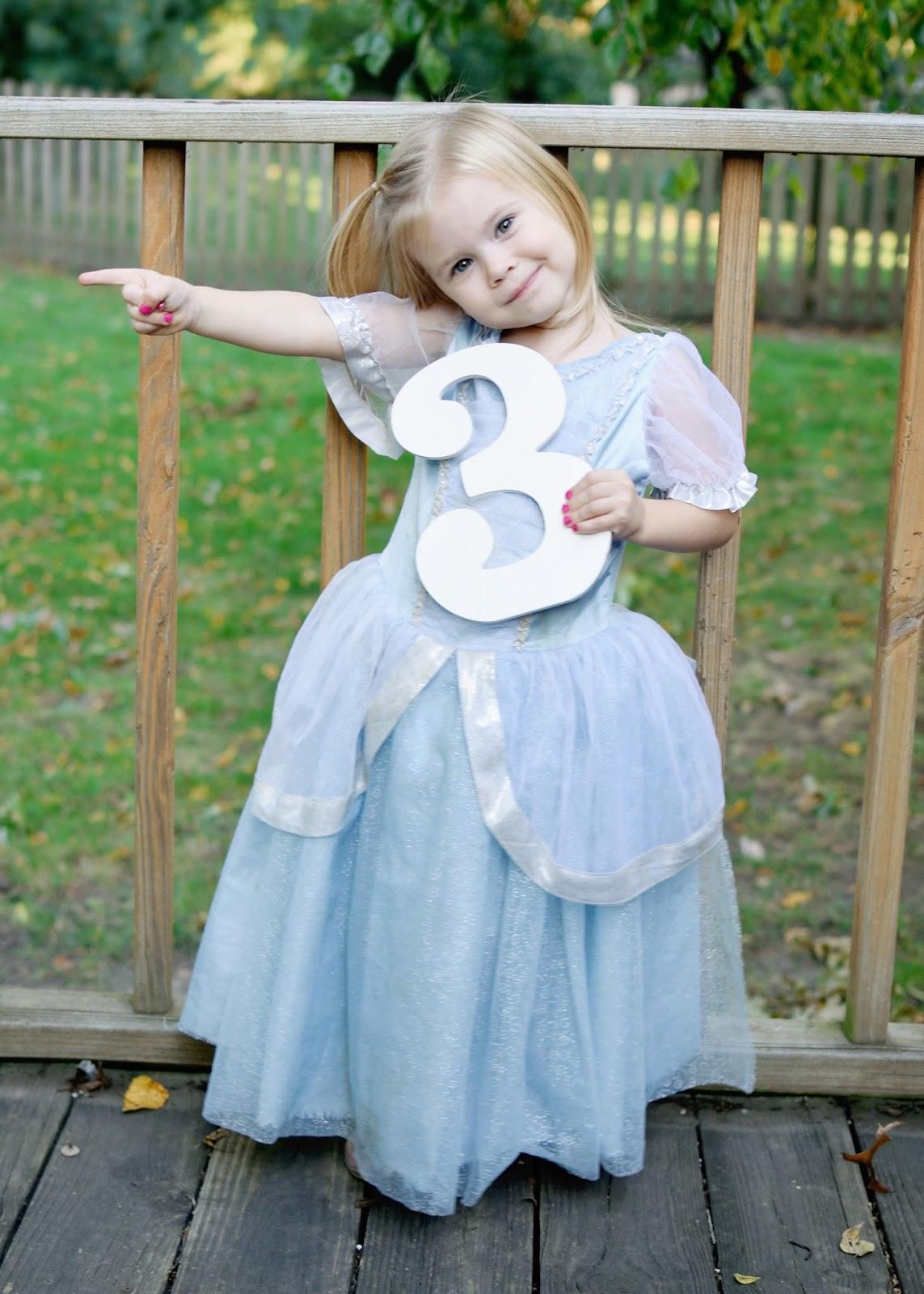 Ashley's Green Life: Mila's 3rd Birthday: A Halloween Party!