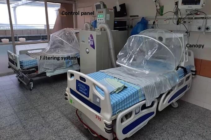 Crean un nuevo sistema de respiración para reducir los contagios a los sanitarios