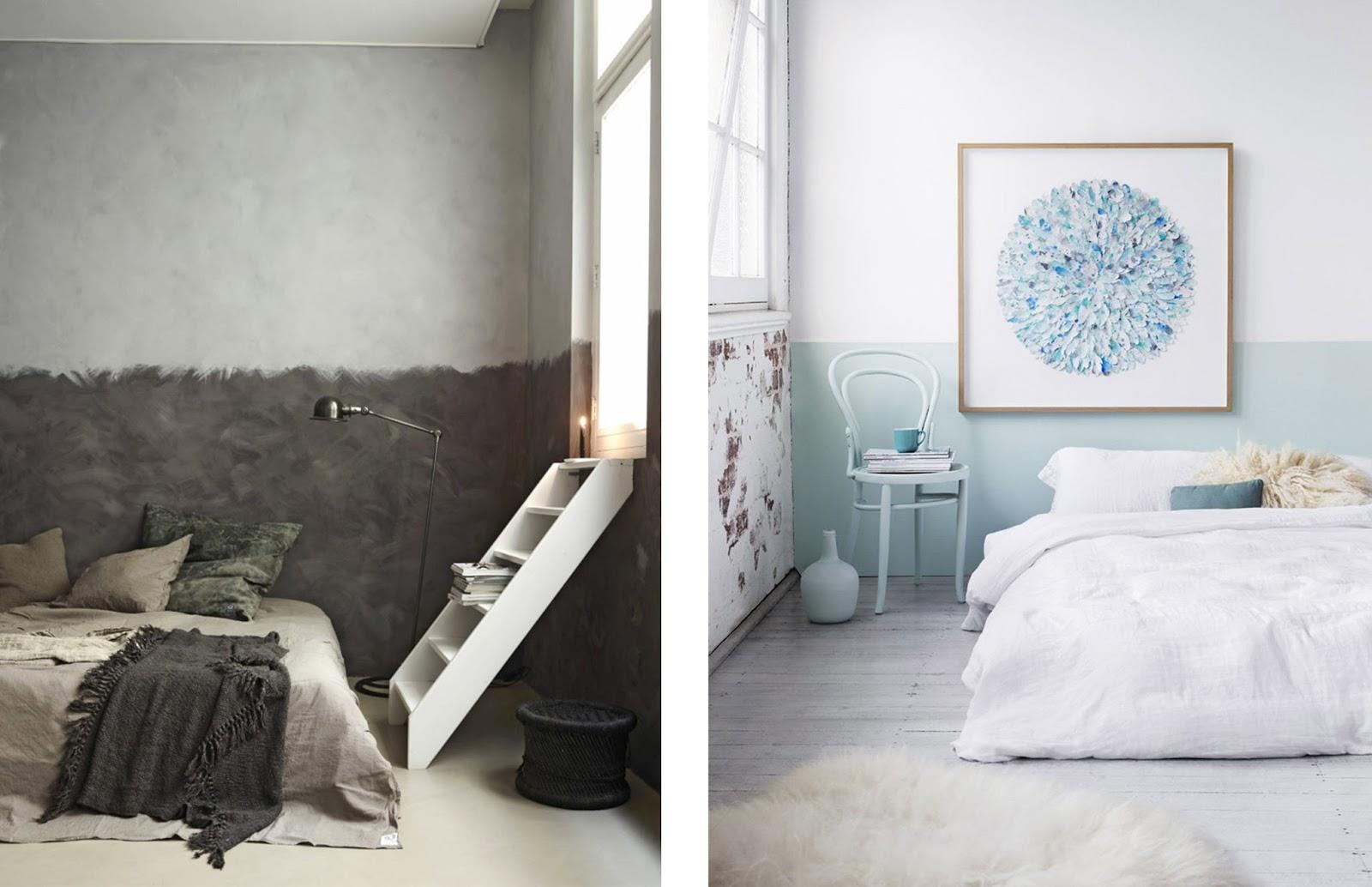 Trendy colorare pareti nuove tendenze pareti dipinte a met - Colorare pareti casa ...