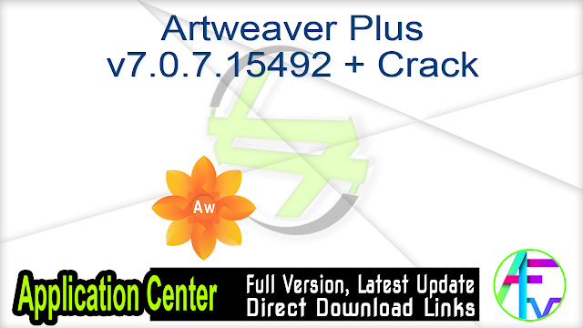 Artweaver Plus v7.0.7.15492 + Crack
