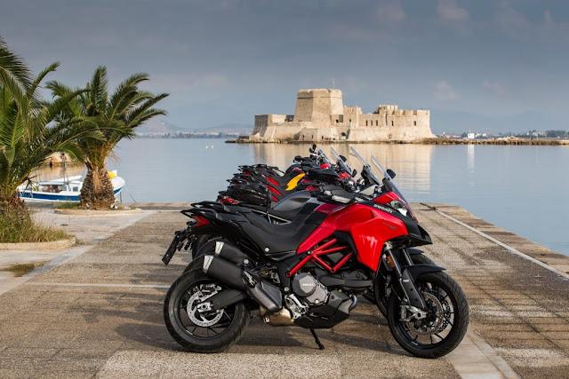 EKO DUCATI TOUR: 850 χιλιόμετρα απολαυστικής οδήγησης με το Ναύπλιο να μαγεύει τους οδηγούς