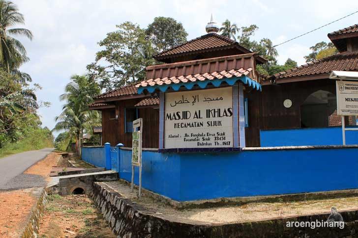 masjid sijuk belitung