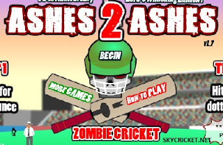 Play zombie cricket game