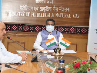 Petroleum Minister inaugurated 1st Supply of UCO Based Biodiesel