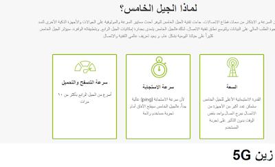 سرعة الجيل الخامس في السعوديه كم ؟