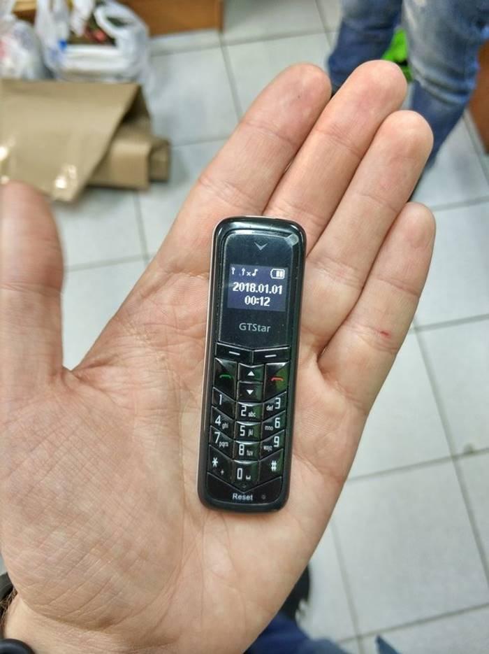 One of the smallest phones in the world: GTstar BM50