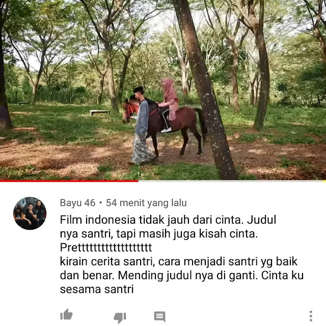 Kritik film the santri