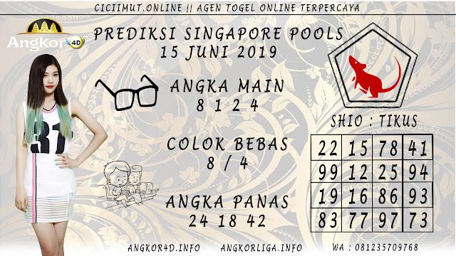 PREDIKSI SINGAPORE POOLS 15 JUNI 2019