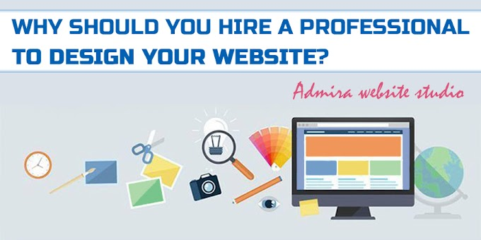 Admira website studio: why should you hire a professional to design your website?