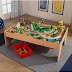 Save 145$ KidKraft Waterfall Mountain Train Set & Table w/ 120 Accessories