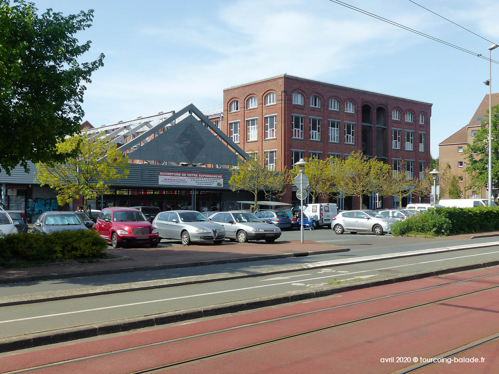 Supermarché Mabrouki, Tourcoing 2020