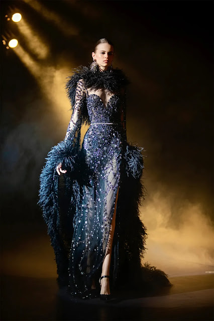 Elie Saab Spring Couture 2021 blog by Kelly Fountain