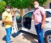 Prefeito Nixon Baracho faz aquisição e entrega de três veículos em Alto do Rodrigues