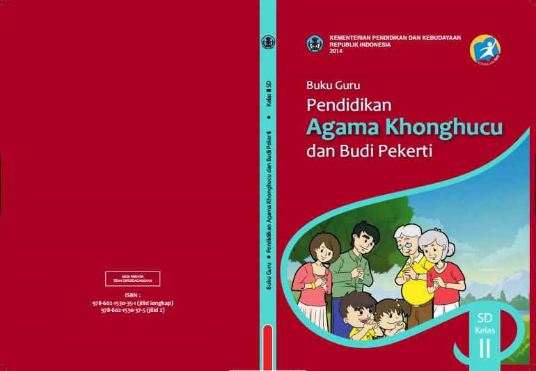 Download Gratis Buku Guru Pendidikan Agama Khonghucu dan Budi Pekerti Kelas 2 SD Kurikulum 2013 Format PDF