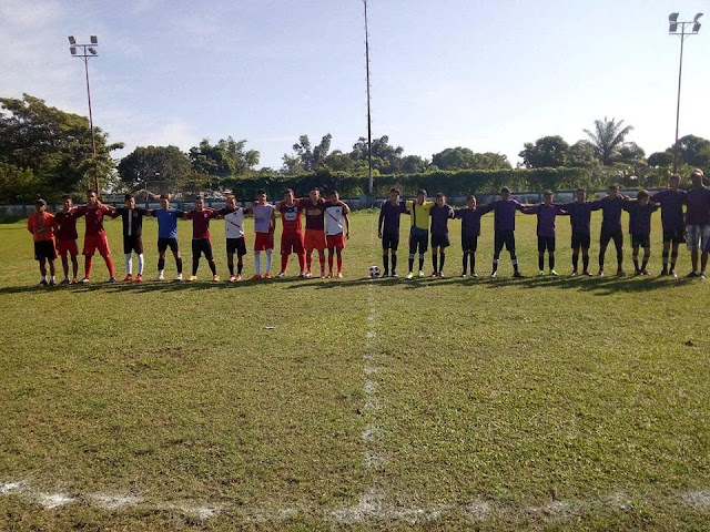 FRONTERA: Águilas del Recreo en intercambio futbolistico en Guasdualito. Alto Apure.