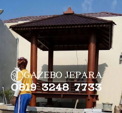 Gazebo Jepara Minimalis