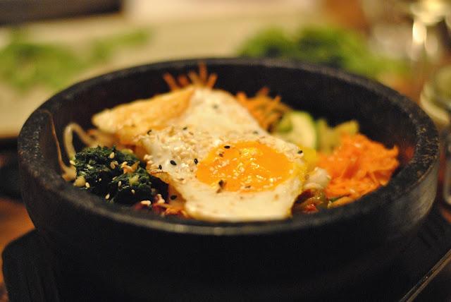 Bi Bim Bap - Traditionelles Reisschüsselgericht