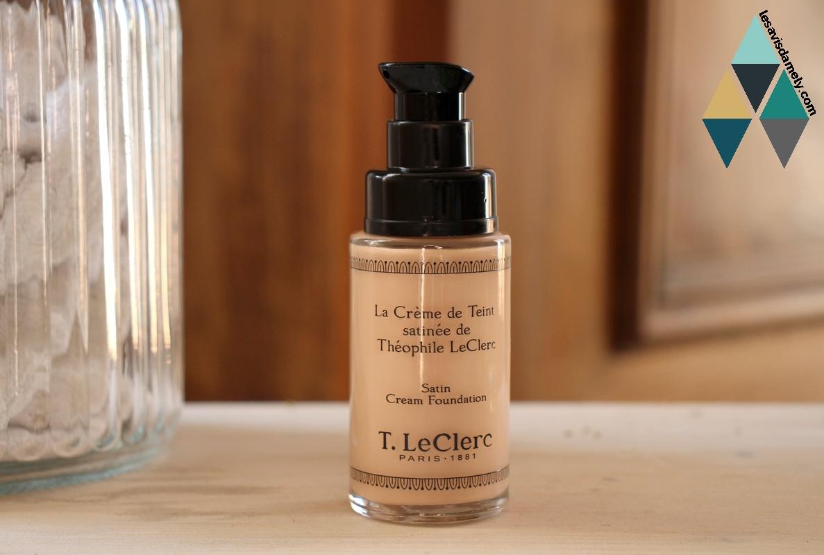 test crème de teint satinée clair rosé t.leclerc