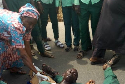 thugs attacked secondary school students minna niger state