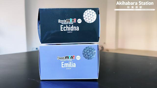 Review de las Figuarts Mini Echidna y Emilia de Re:Zero - Tamashii Nations