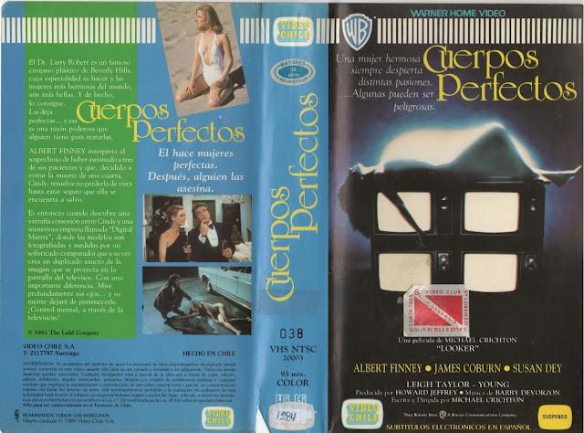 """Pelicula: """"Cuerpos Perfectos"""" (Looker) - 1981"""