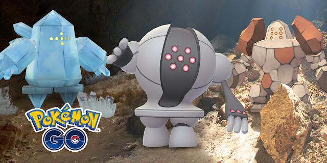 Pokemon GO Regi Raids