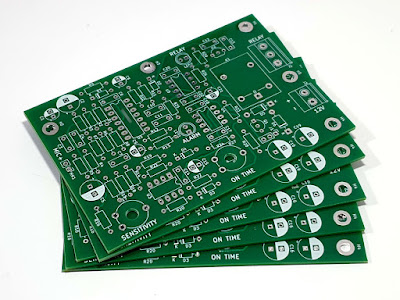 PCBs ordered from PCBWay