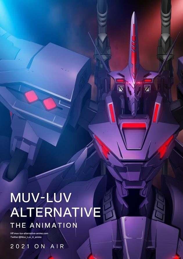 Póster de Muv-Luv Alternative: The Animation