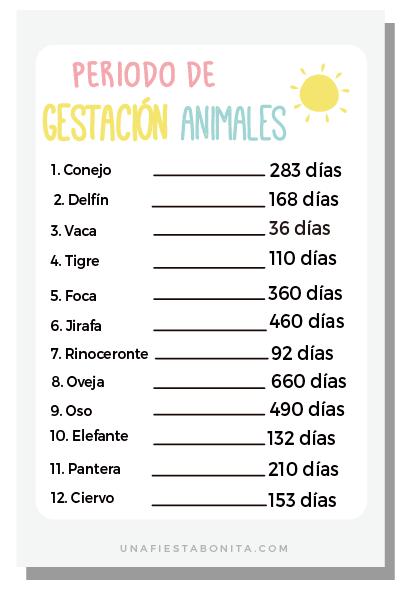 5 Imprimibles Juegos Para Baby Shower Una Fiesta Bonita