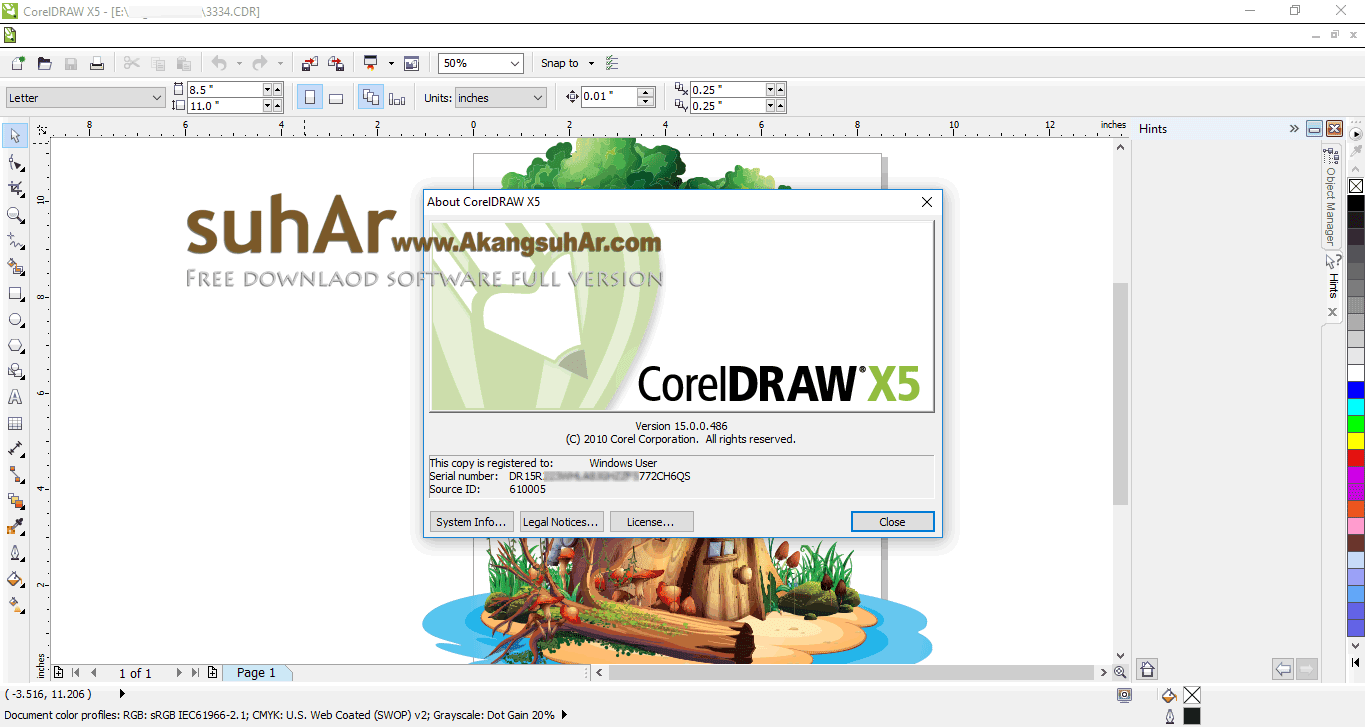 Download CorelDraw Graphics Suite X5 Full Serial Number
