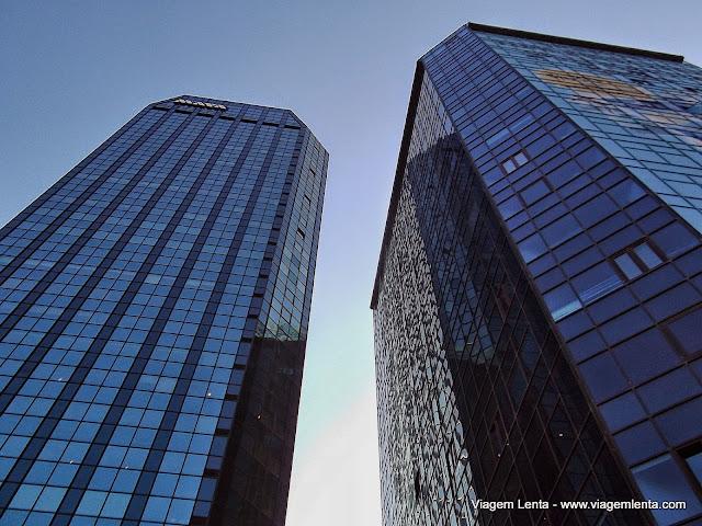 O centro financeiro de Istambul