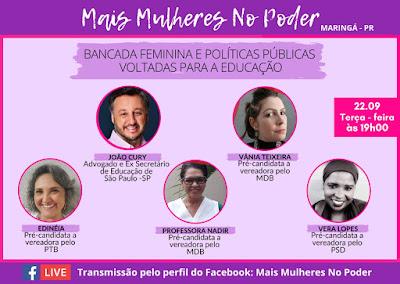 Live terá a presença do advogado e ex-secretário de Educação de São Paulo, João Cury. Café com Jornalista