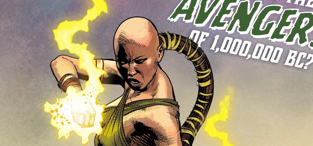 Marvel Legacy Reveals Female Iron Fist And Phoenix From 1,000,000 BC Avengers.