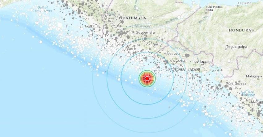 Terremoto en El Salvador de Magnitud 5.8 (Hoy Domingo 28 Octubre 2018) Sismo Temblor EPICENTRO - Playa Los Cóbanos - Sonsonate - En Vivo Twitter - Facebook - MARN - www.marn.gob.sv