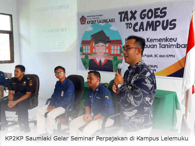 KP2KP Saumlaki Gelar Seminar Perpajakan di Kampus Lelemuku