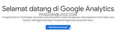 Cara Daftar Google Analytics