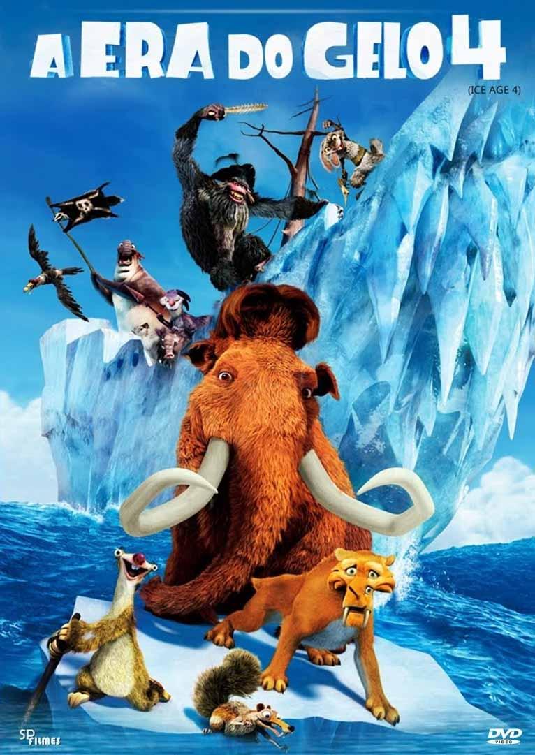 A Era do Gelo 4 3D Torrent – BluRay 1080p Dual Áudio (2012)