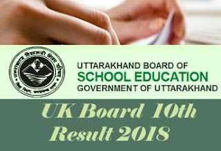 Uttarakhand Board 10th Results 2018, Uttarakhand Board 10th 2018 Result, UK Board 10th 2018 Result